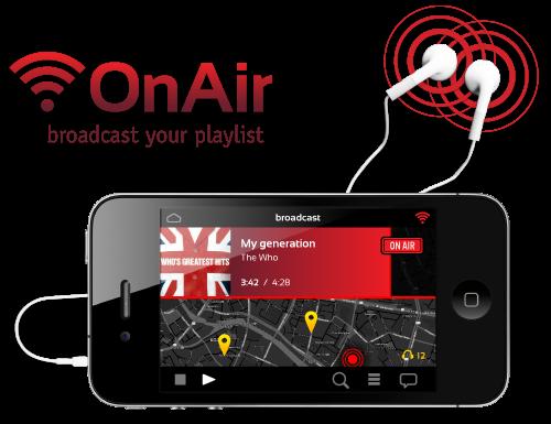 OnAir App and logo